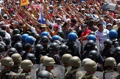 copsarmyprotesters